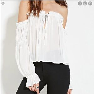Forever 21 Off the Shoulder Top